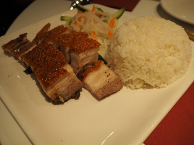 Glorious pork belly