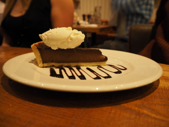 Chocolate tart of heaven and destiny