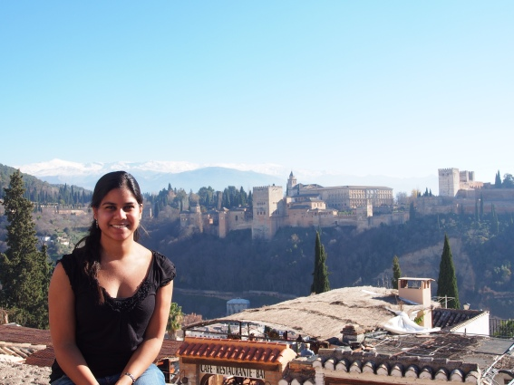 Visiting the Alhambra in between food stops in Andalucia