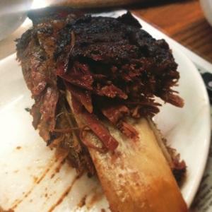 Beef rib... falling off the bone