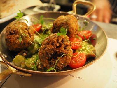 Fish falafel