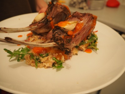 Lamb of destiny - a generous portion and more than enough for two
