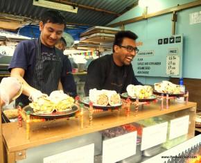 The Global Kitchen in Camden Market