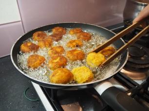 Mackerel croquettes